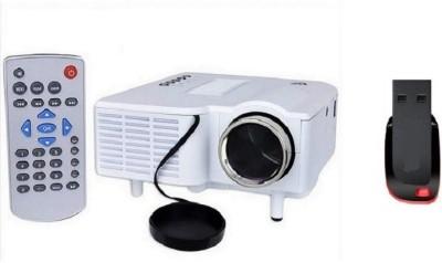 UNIC Unic 28+ LED Projector with 8 GB pe...