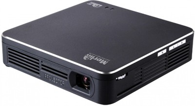 Merlin WIFI Projector PRO 100 lm DLP Corded & Cordless Portable Projector(Black)