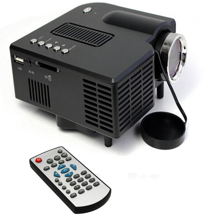 Unic 48 lm LED Corded Portable Projector