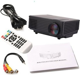 Voltegic ™ HDMI Home Theater Beamer Multimedia 800 lm LED Corded Portable Projector(Black)