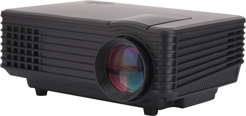 Hybridvision Hybrid 805 800 lm LED Corded Portable Projector(Black)