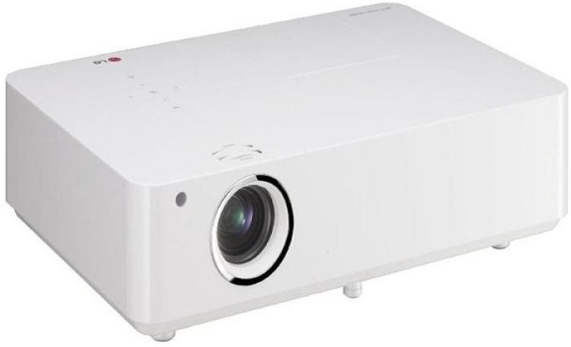 LG BG630 3200 lm LCD Corded Portable Projector(White)
