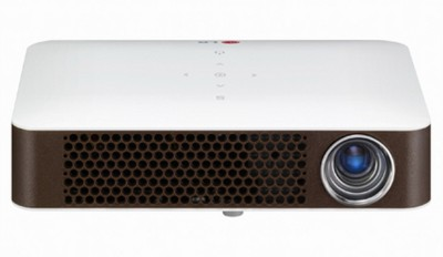 LG PW700 700 lm DLP Corded Portable Projector