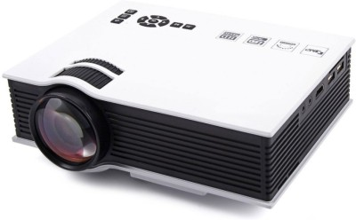 Microware UC40 Unic Projector 800 lm LED Corded Portable Projector(White, Black)