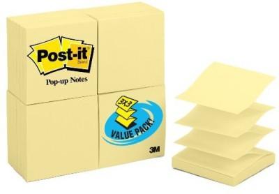 Post-it Cubes 100 Sheets Pop-u, 1 Colors