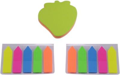 Saamarth Impex Fruits & Arrow 100 Sheets Pop-up, 5 Colors(Multicolor)