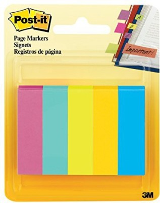 3M Office Products 50 Sheets Regular, 5 Colors