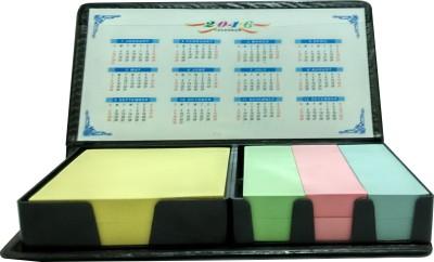 Weltbild Basic 100 Sheets Memo Set pad, 4 Colors(Set Of 4, Black)