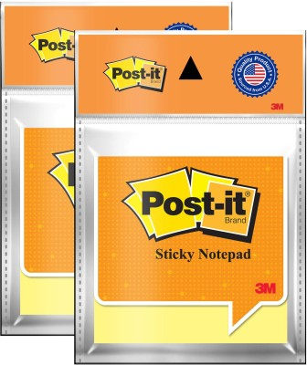 Post-It Magic Cubes 100 Sheets Pop-up, 1 Colors(Set Of 2, Yellow)