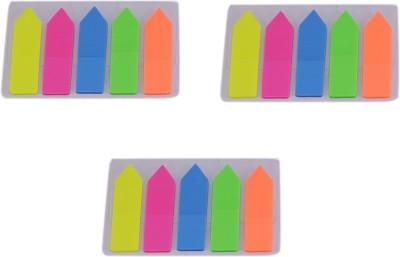 Saamarth Impex Arrow 20 Sheets Pop-up, 5 Colors(Multicolor)