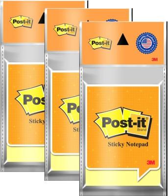 Post-It Magic Cubes 100 Sheets Pop-up, 1 Colors(Set Of 3, Yellow)