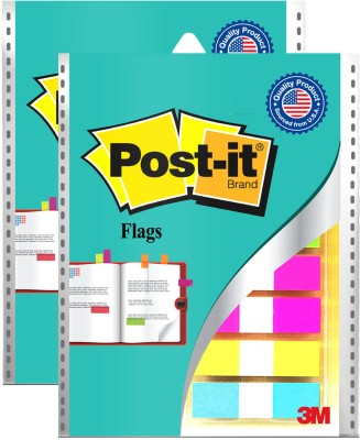 Post-it Color 12 Sheets Flags, 5 Colors