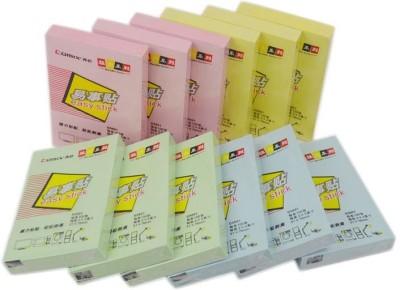 Comix Vibrant Colors 100 Sheets Regular, 4 Colors