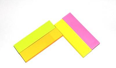 phonoHolic magic Cubes 11 Sheets pop-up, 4 Colors(Set Of 4, Yellow, Green, Pink, Orange)