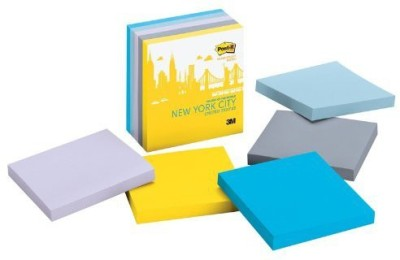 3M Office Products Regular, 5 Colors