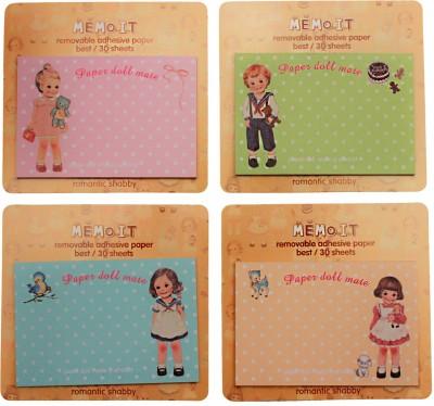Fusen collection Polka dot 30 Sheets Regular, 4 Colors