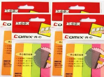 Comix Magic Cubes 50 Sheets Pop-up, 5 Colors(Multicolor)