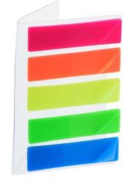 Chrome Neon Flags 25 Sheets Regular, 5 Colors
