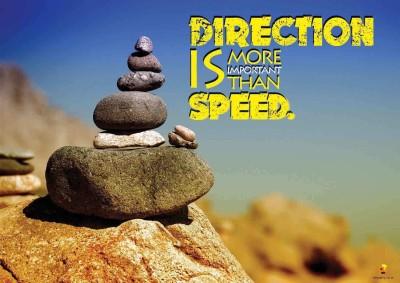Bheja Fry Poster Milestone Direction Speed (29.7 cm x 42 cm) Paper Print