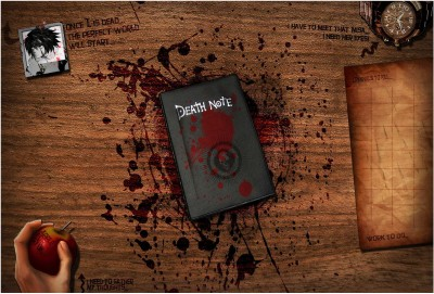 Death Note Wallpaper Photographic Paper