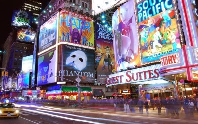 Times Square A3 HD Poster Art PNCA26075 Photographic Paper