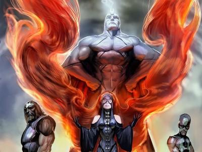Realm Of Kings Marvel Inhumans Frameless Fine Quality Poster Fine Art Print
