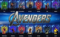 Comics Avengers The Avengers Marvel Iron Man Ms. Marvel Hulk Black Widow Captain America Nick Fury Thor Hawkeye Spider-Man Wolverine Wasp Spider-Woman