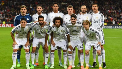 FC Real Madrid Players A3 HD Poster Art shi1136 Photographic Paper