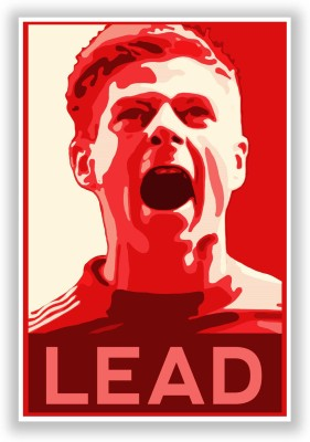 Posterguy Gerard Liverpool Score Football And Sports Legends Poster Paper Print