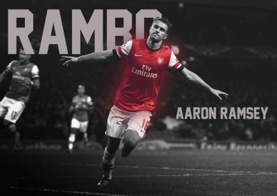 Athah Poster Aaron Ramsey Paper Print