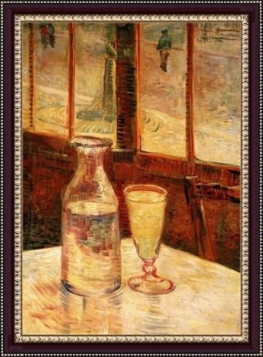 The Still Life With Absinthe - ArtsNyou Printed Paintings Canvas Art