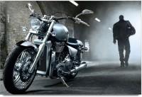 RangeeleInkers Harley davidson Biker Laminated Poster Paper Print