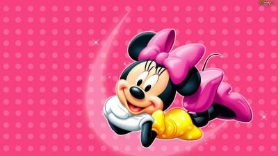 Minnie Mouse Disney Cartoon Poster Paper Print