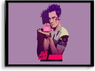 Fight Club -Soap Canvas Art