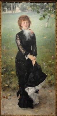 The Museum Outlet Marie Buloz Pailleron (Madame Edouard Pailleron) by John Singer Sargent, 1879 (Medium) Canvas Painting