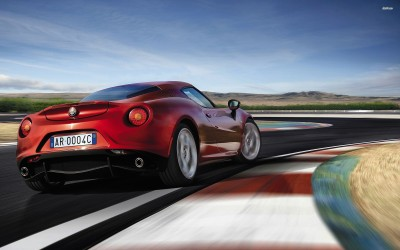 Athah 2014 Alfa Romeo Giulietta Poster Paper Print