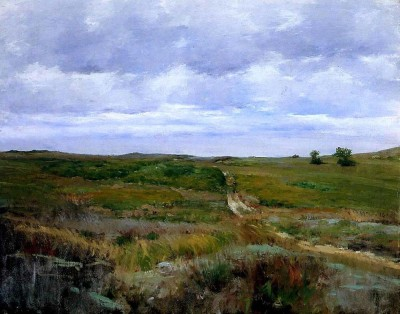 The Museum Outlet Over the Hills and Far Away, 1897 (Medium) Canvas Painting