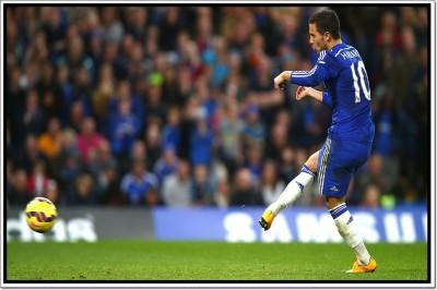 Eden Hazard Footballer Poster Paper Print