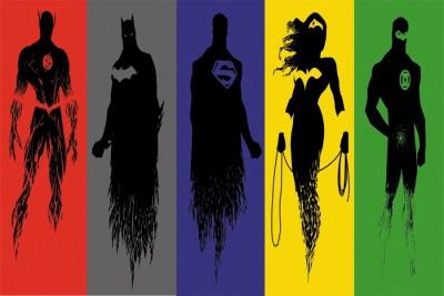 super heros Paper Print