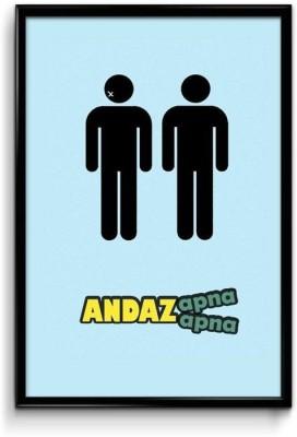 Andaz Apna Apna Paper Print