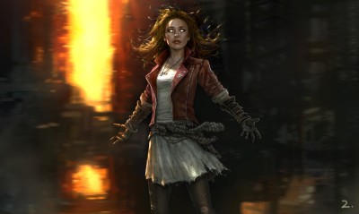 Movie Avengers: Age Of Ultron The Avengers Avengers Scarlet Witch HD Wall Poster Paper Print