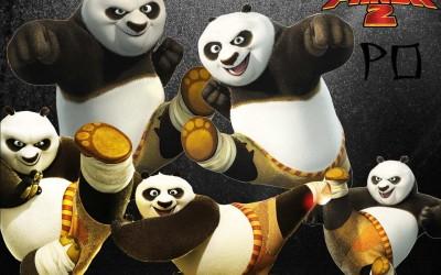 Movie Kung Fu Panda 2 Kung Fu Panda Jack Black Po HD Wall Poster Paper Print