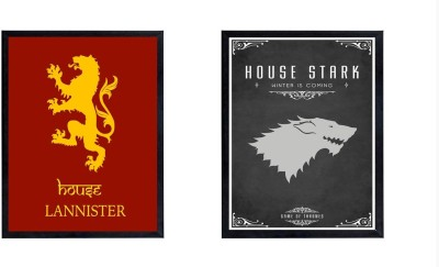 House Lannister and House Stark Photographic Paper