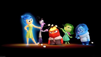 Movie Inside Out Joy Sadness Anger Fear Disgust HD Wall Poster Paper Print
