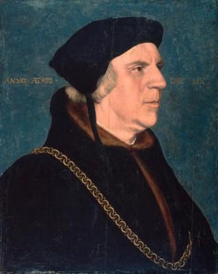 Portrait of Sir William Butts. 1543 (Medium) Paper Print