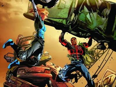 The Bionic Man Vs. The Bionic Woman Bionic Man Bionic Woman HD Wall Poster Paper Print