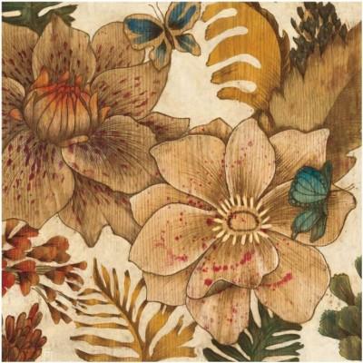 Montage - Fleurs De Bois Fine Art Print