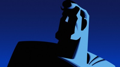 Wall Poster TVShow Superman: The Animated Series Superman Paper Print