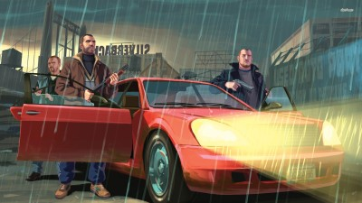 Grand Theft Auto IV Athah Fine Quality Poster Paper Print