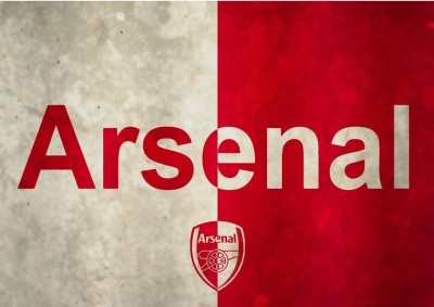 Arsenal Football Club Fc Love A4 Cotton Canvas High Quality Printed Poster - Wall Art Print (Size : 8.2 x 11.6) , For Bedroom , Living Room, Kitchen, Office, Room Canvas Art